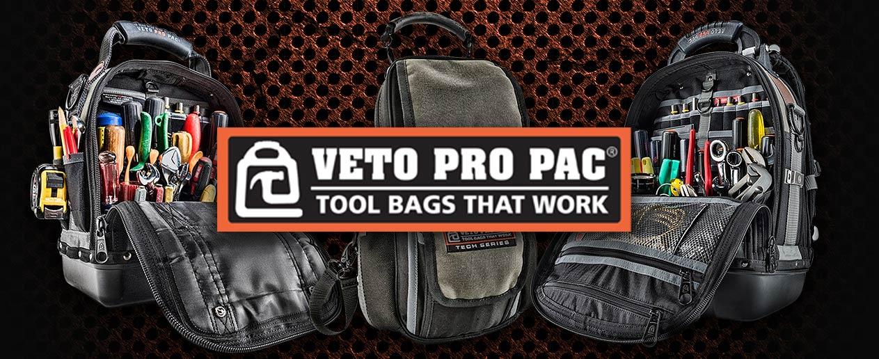 Veto Pro Pac Tool Bags