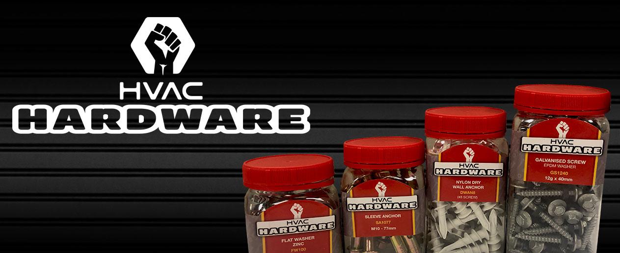 HVAC Hardware Range